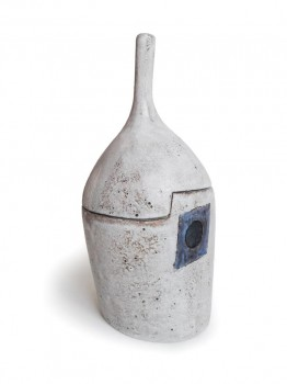 Importante boite en céramique