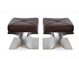 Pair of model X stools
