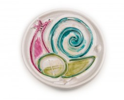 Important ceramic plate
