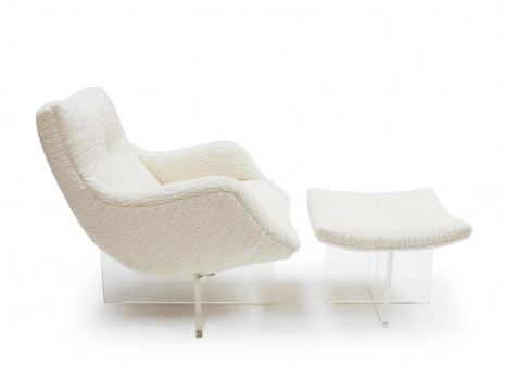 Cosmos chair and ottoman
