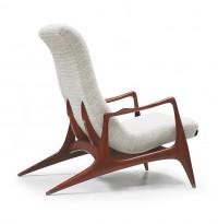 Rare fauteuil lounge modèle VK100