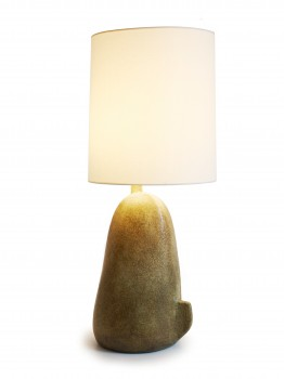Important ceramic lamp