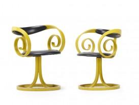 Paire de fauteuils Sultana