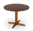 Pedestal occasional table