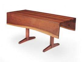 Table console free edge à deux abattants