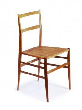 Set of 6 Superleggera chairs