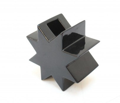 Vase HSING noir