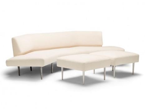 Sofa and 2 ottomans