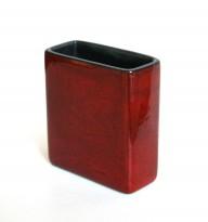 Model 2123 red ceramic vase