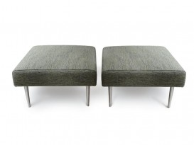 Mod. 4756 pair of ottomans