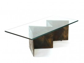 Brutalist low table