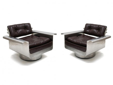 A pair of Douglas chairs