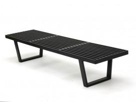 Black Platform bench