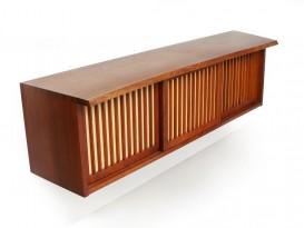Free edge pandanus cabinet
