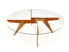 Mod. 1101 round coffee table