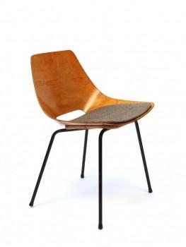Suite de 6 chaises tonneau