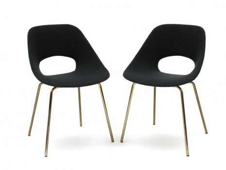 Pair of Tulipe chairs