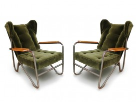 Pair of Prefacto armchairs