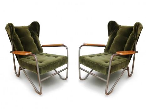 Pair of Prefacto armchairs