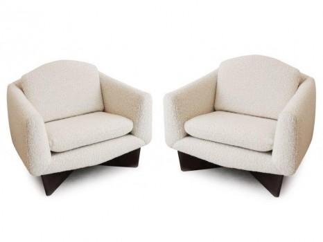 Pair of Monaco armchairs