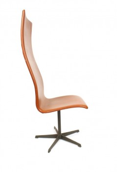 Suite de 4 fauteuils de bureau modèle Oxford