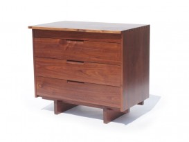 Free edge chest of drawers