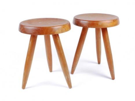 A pair of Berger stools