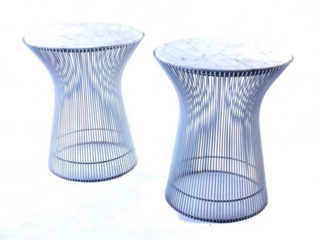 Pair of 3710 side tables