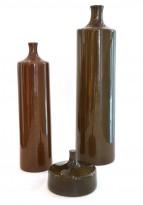 3 ceramic bottles