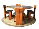 Artona table and 4 chairs