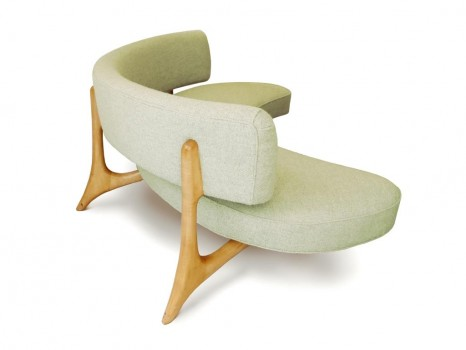 Floating seat and back sofa