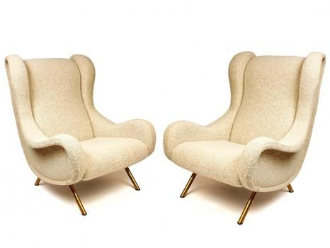 Pair of Senior armchairs